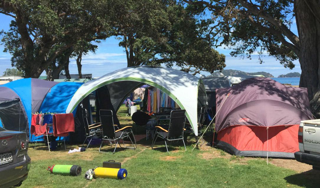 Papa Aroha Holiday Camp - Coromandel, New Zealand ...